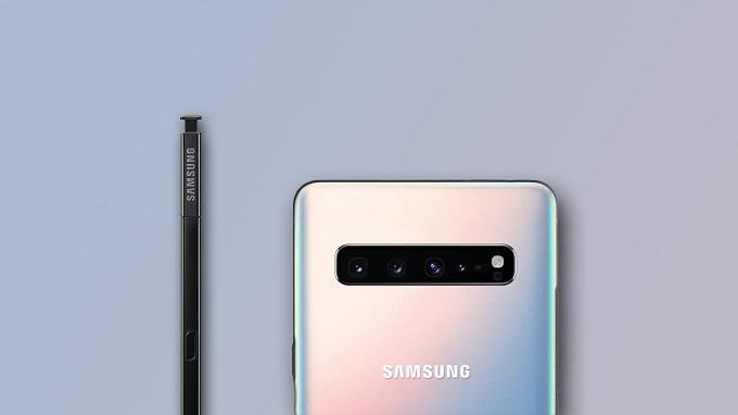 Galaxy Note 10 sẽ có 3 camera và 1 cảm biến ToF ở mặt sau
