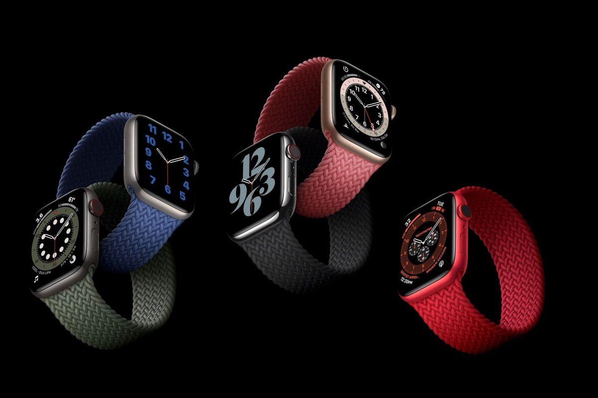 Dây đeo và màu sắc mới trên Apple Watch series 6