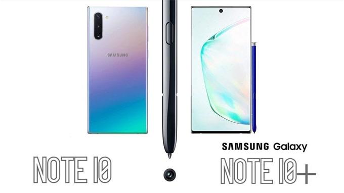 Galaxy Note 10 sẽ có đến 4 phiên bản khác nhau