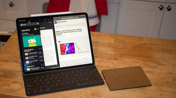 Bộ phụ kiện bàn phím và Apple Pencil hoàn toàn mới