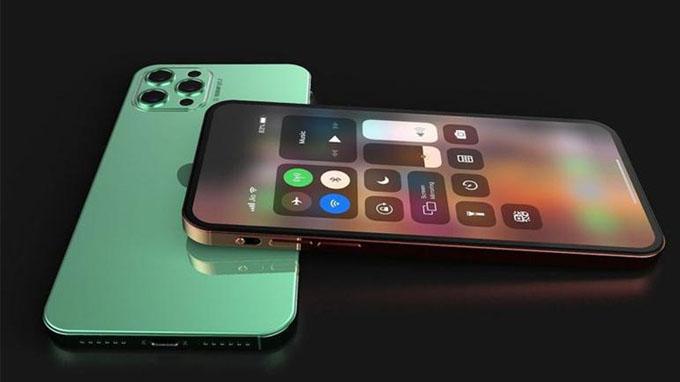 Thiết kế iPhone 12 Pro vẫn được hoàn thiện từ khung kim loại cao cấp với mặt kính bỏng bẩy ở trước và sau.