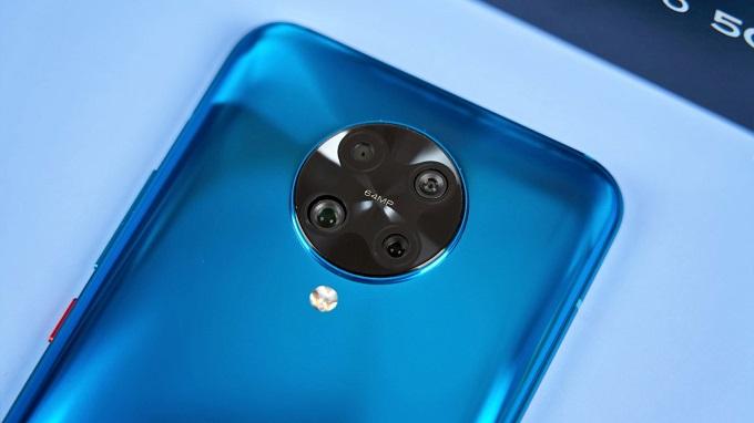 Redmi K30 Pro sử dụng hẳn 1 cụm camera tròn lồi lên