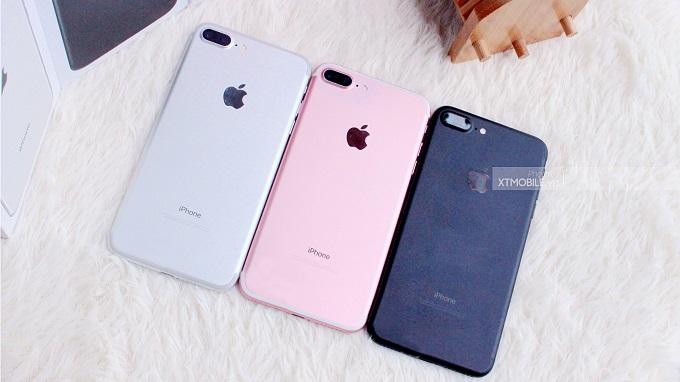 Các phiên bản iPhone 7 Plus