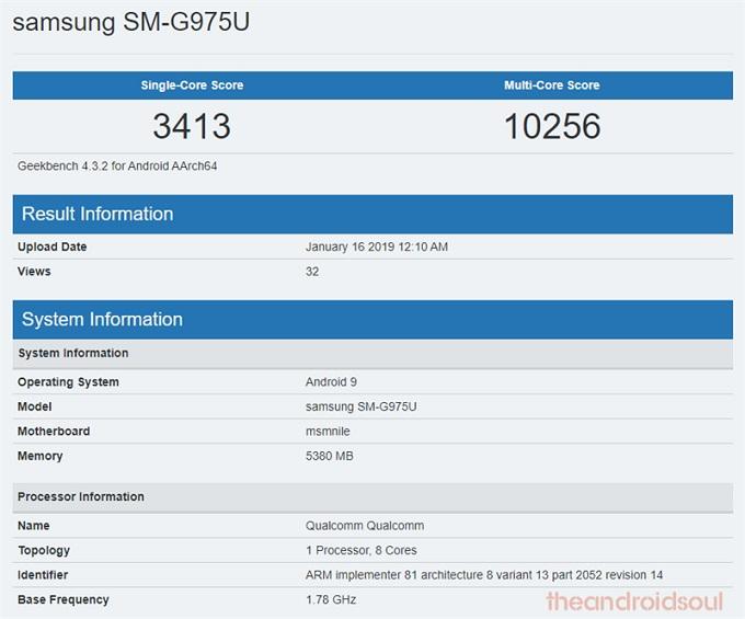 Hiệu năng Galaxy S10 Plus chạy chip Snapdragon 855
