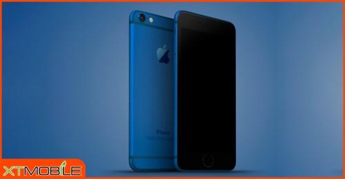 Apple tham vọng tung ra iPhone 7 màu xanh đại dương cạnh tranh trực tiếp với Galaxy S7 Edge Blue Coral?