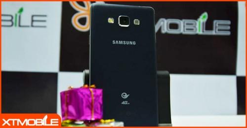 Ngỡ ngàng trước thiết kế tuyệt vời của Galaxy A7, smartphone giá rẻ của Samsung