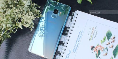 Cận cảnh siêu phẩm Galaxy S9 Ice Blue vừa cập bến tại XTmobile