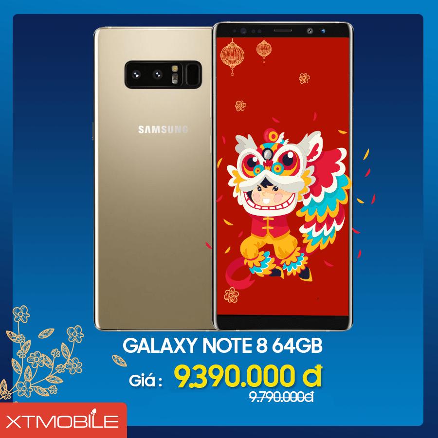 Galaxy Note 8 64GB Hàn cũ giảm giá 400 ngàn