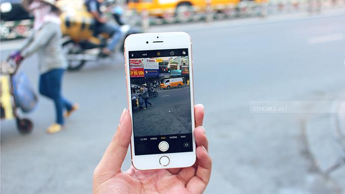 Camera 12MP trên iPhone 6s có thêm tính năng Live Photos