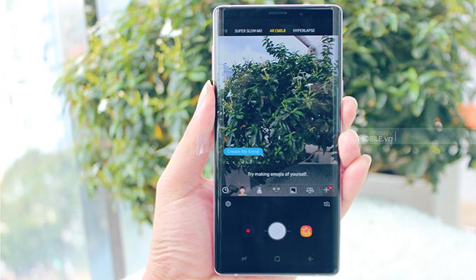 Galaxy Note 9 512GB cũ có thể tự điều chỉnh khẩu độ khi chụp ảnh