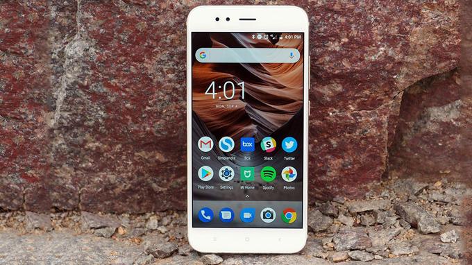Xiaomi Mi A1 được trang bị chip xử lý Snapdragon 625