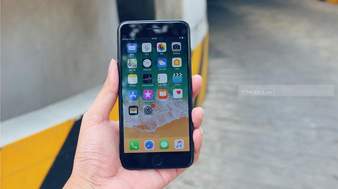 Màn hình iPhone 7 128GB cũ sử dụng công nghệ mới có độ hiển thị chi tiết, sắc nét