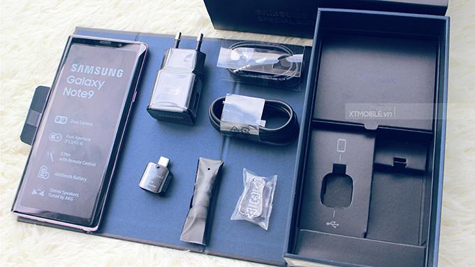 Pin 400 mAh và tối ưu phân mềm cho phép Galaxy Note 9 512GB cũ hoạt động cả ngày