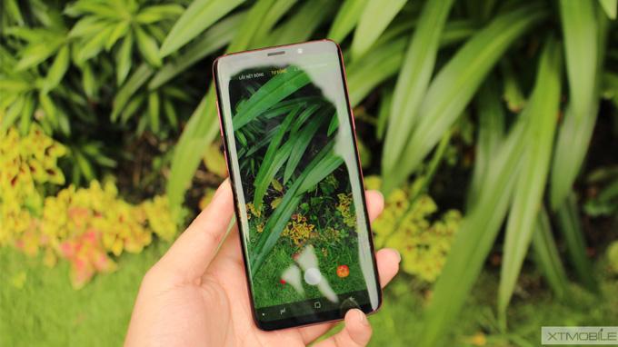 Camera kép trên Galaxy S9 Plus 64GB vang đỏ được nâng cấp mạnh mẽ, hỗ trợ xóa phông độc đáo