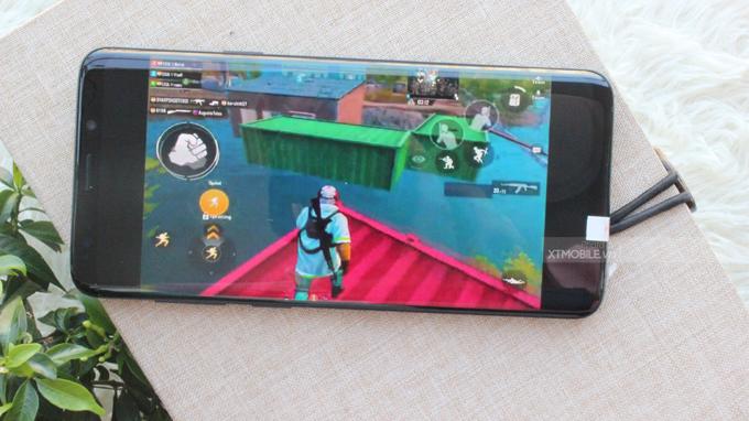 Màn hình Galaxy S9 Plus 64GB Vang đỏ có chất lượng hiển thị tốt