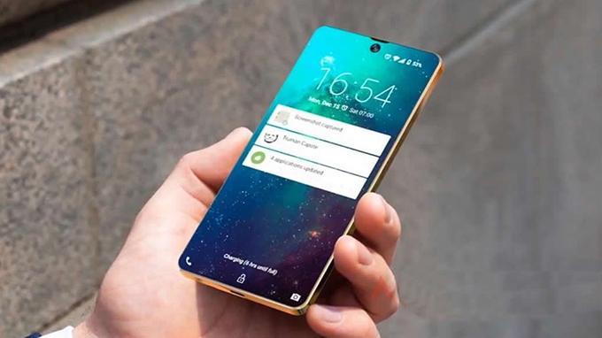 Galaxy S10 5G còn được trang bị màn hình AMOLED cong kích thước lên đến 6.7 inch