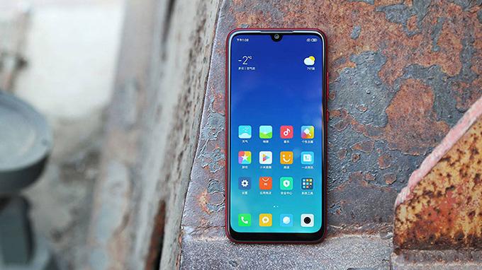 Xiaomi Redmi Note 7 có độ bền màn hình cực cao