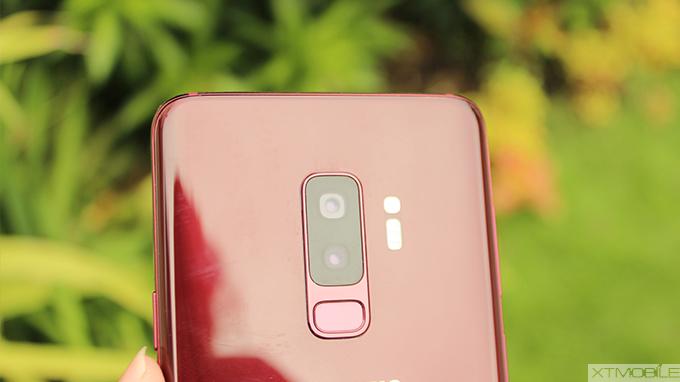 Galaxy S9 Plus có cụm camera kép đẳng cấp