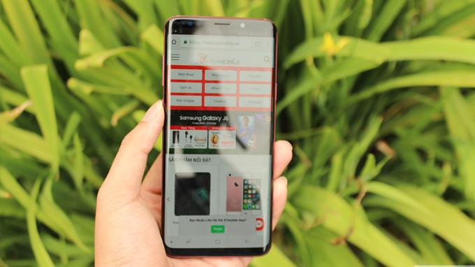Galaxy S9 và S9 Plus kế thừa thiết kế tràn viền độc đáo của Samsung