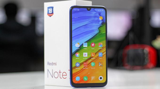 Chât lượng màn hình Xiaomi Redmi Note 7 làm hài lòng người dùng khó tính nhất