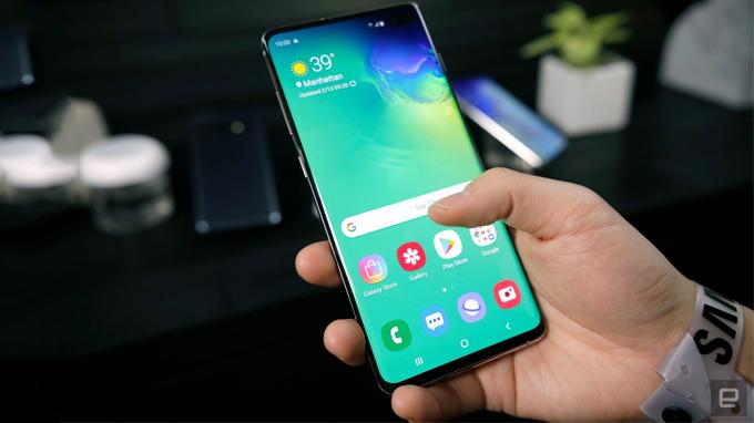 Galaxy S10 Plus sẽ có công nghệ 5G
