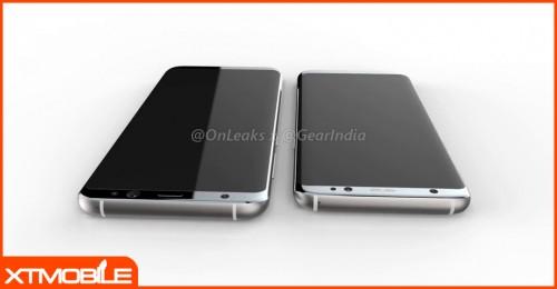 Bộ đôi Galaxy S8 và S8 Plus tiếp tục khuấy đảo giới công nghệ với loạt ảnh render và video rõ nét