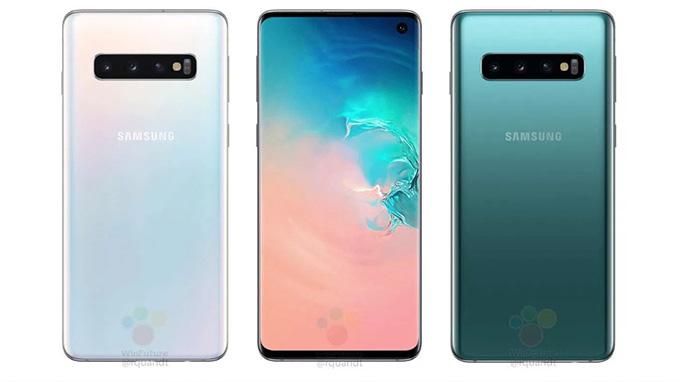 Samsung Galaxy S10 và S10 Plus màu trắng ngọc trai và xanh lục bảo