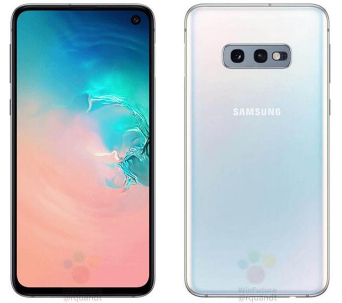 Galaxy S10e có thiết kế khá giống với iPhone X