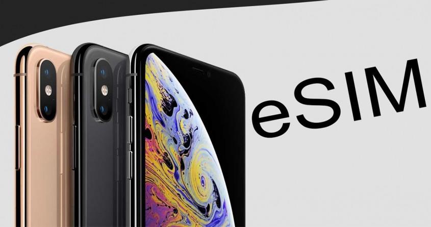 Cài đặt và sử dụng eSIM trên iPhone Xs, Xs Max và iPhone XR