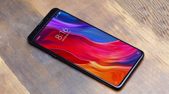 Thiết kế Xiaomi Mi Mix 3S không có nhiều thay đổi so với thế hệ trước