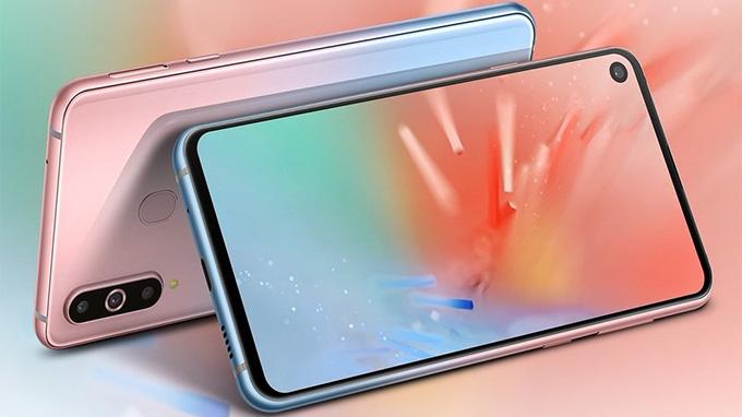 Samsung Galaxy A8s Unicorn Pink có màu sắc vô cùng hấp dẫn, cuốn hút