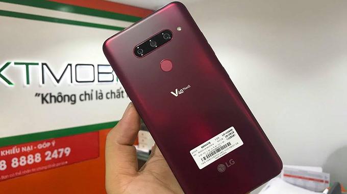 LG V40 ThinQ sẽ tiếp nối truyền thống chụp ảnh chất lượng từ nhà LG V