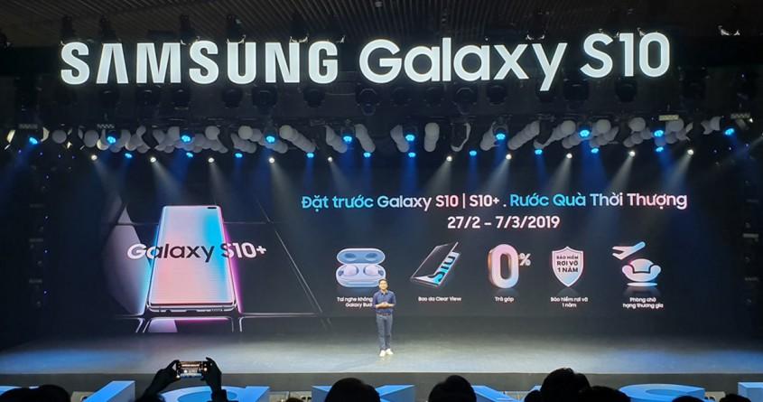 Giá bán Galaxy S10, S10 Plus, S10e chính hãng tại VN chỉ từ 15.99 triệu