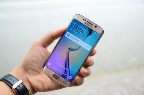 Thiết kế ấn tượng của điện thoại Samsung Galaxy s6 Edge xách tay