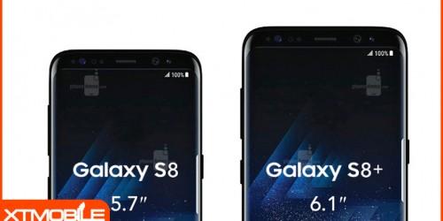 Bộ đôi Galaxy S8 và S8 Plus sải bước tự tin khoe body bên những siêu phẩm cao cấp