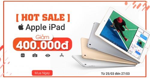 Hot Sale: Khuyến mãi cho tất cả các dòng sản phẩm iPad tại XTmobile