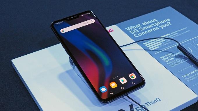 LG V50 ThinQ 5G bền bỉ chắc chắn nhất