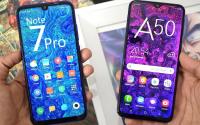 So sánh Galaxy A50 và Redmi Note 7 Pro: Người mới nào bá đạo hơn?