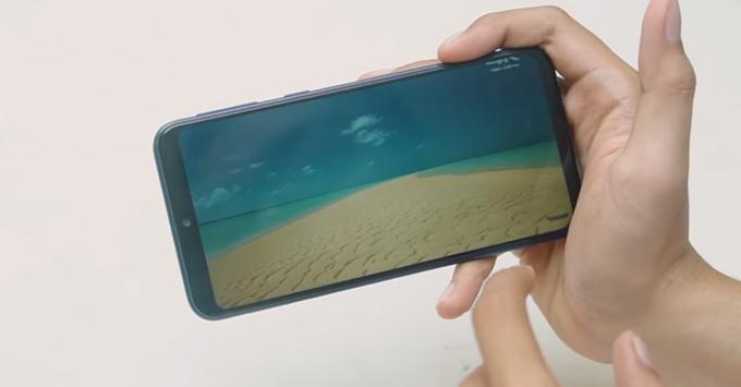 Galaxy M20 được trang bị màn hình V-Infinity có kích thước 6,3 inch