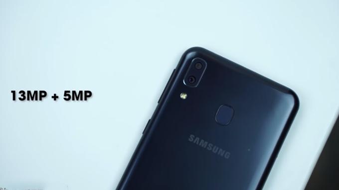 Camera kép trên Galaxy M20 chụp ảnh góc rộng tuyệt vời