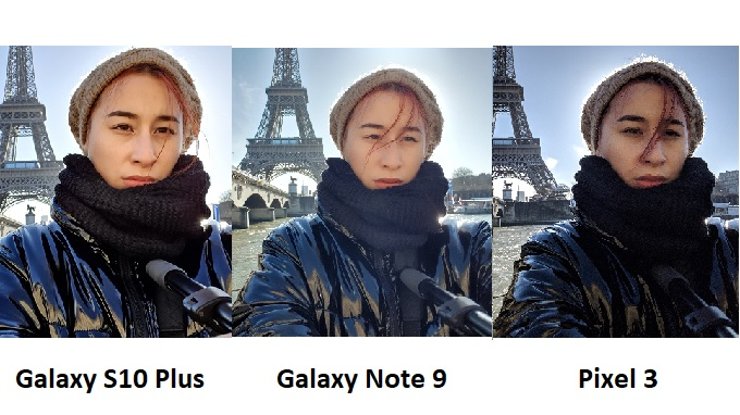 Chất lượng ảnh chụp của Galaxy S10 Plus và các flagship khác