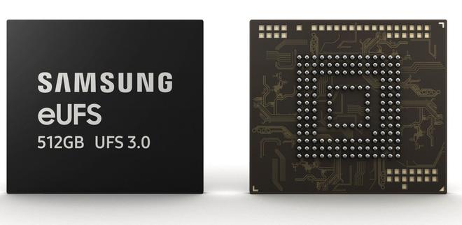 bộ nhớ lưu trữ UFS 3.0 được xác nhận tích hợp trên chiếc điện thoại màn hình gập Galaxy Fold
