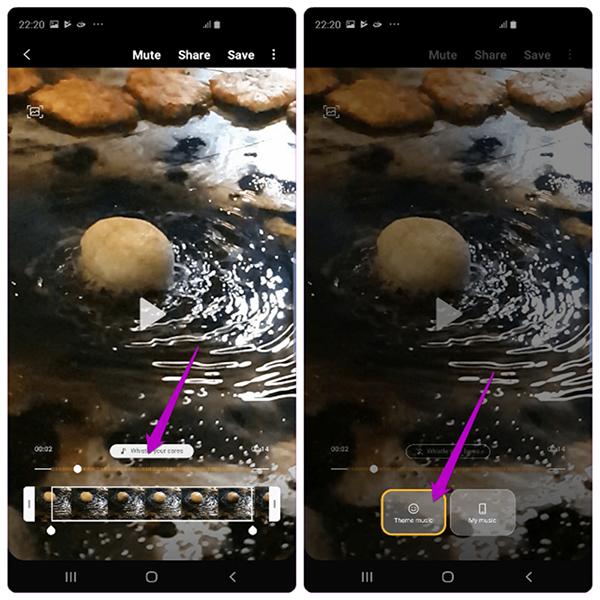 Tùy chỉnh video Slow Motion trên Galaxy S10 và Galaxy s10 Plus