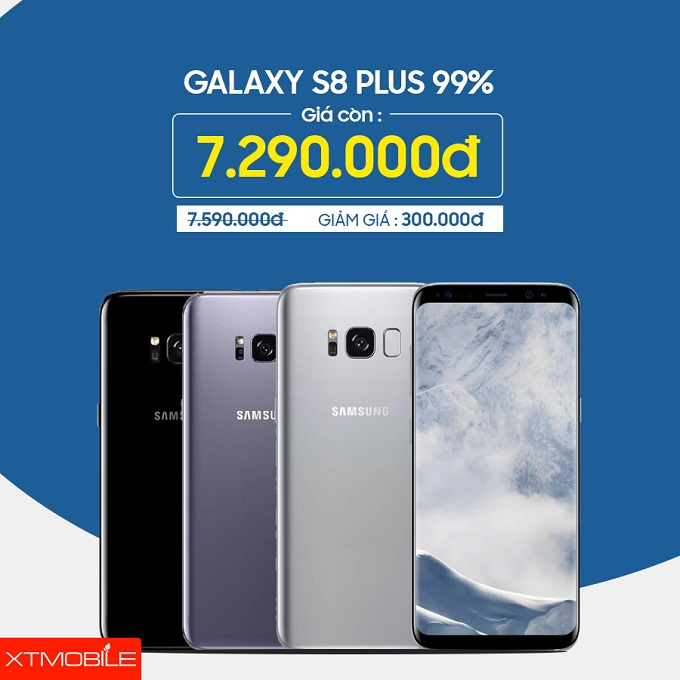Galaxy S8 Plus 64GB Hàn Quốc cũ giảm 300 ngàn