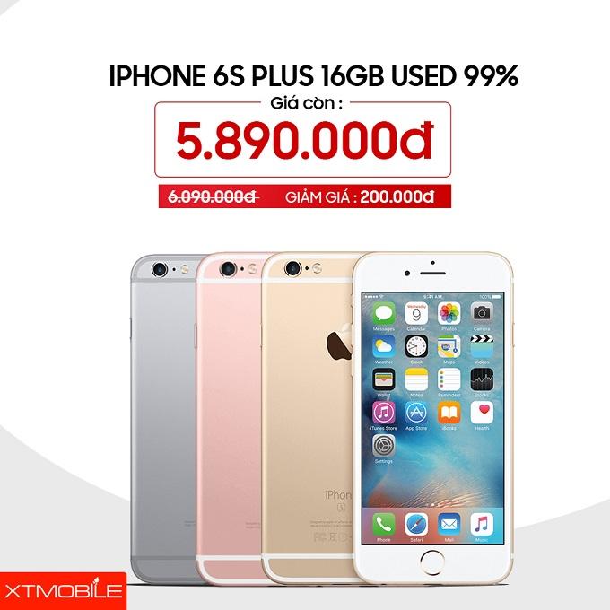 iPhone 6S Plus 16GB đang giảm 200 ngàn