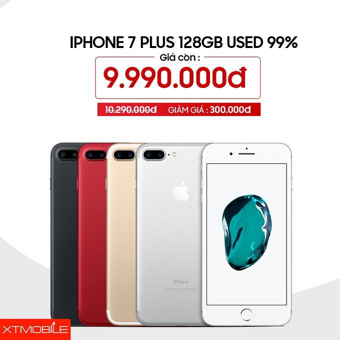 iPhone 7 Plus 128GB đang giảm 300 ngàn