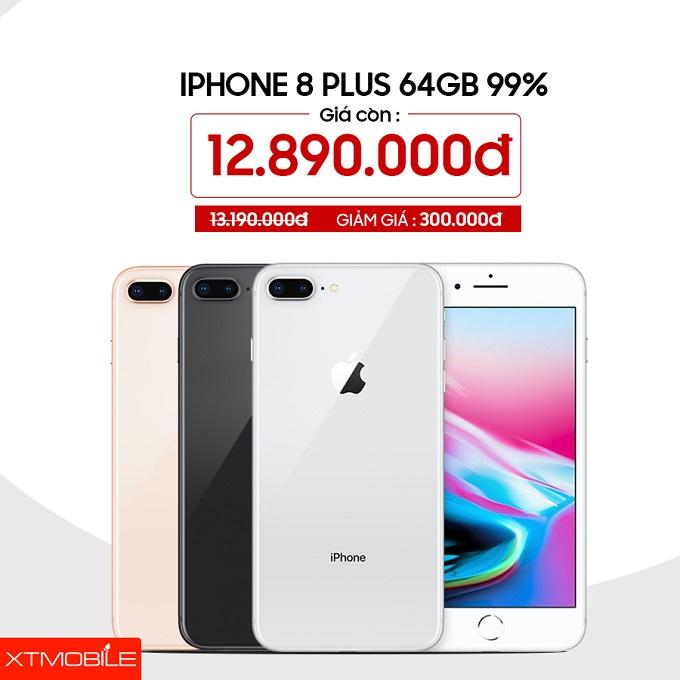 iPhone 8 Plus 64GB cũ đang giảm 300 ngàn