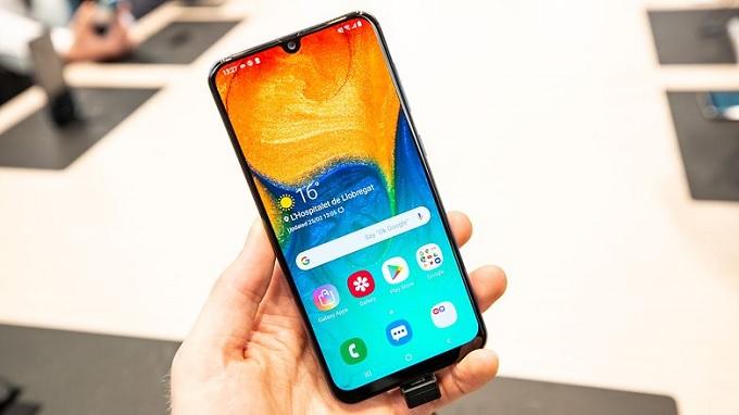 Galaxy A30 có màn hình chất lượng