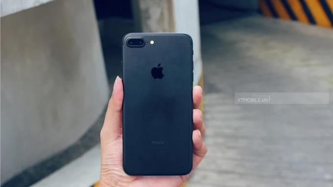 iPhone 7 Plus Đen nhám đẹp xuất sắc