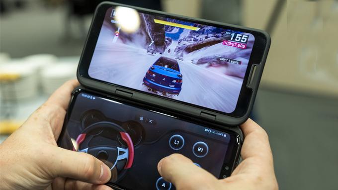 LG V50 ThinQ được trang bị chip xử lý mới nhất là Snapdragon 855